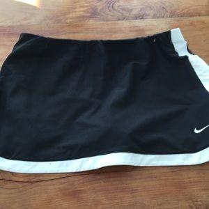 Small Nike black tennis skirt